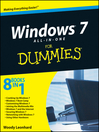 Windows 7 All-in-One For Dummies (eBook)